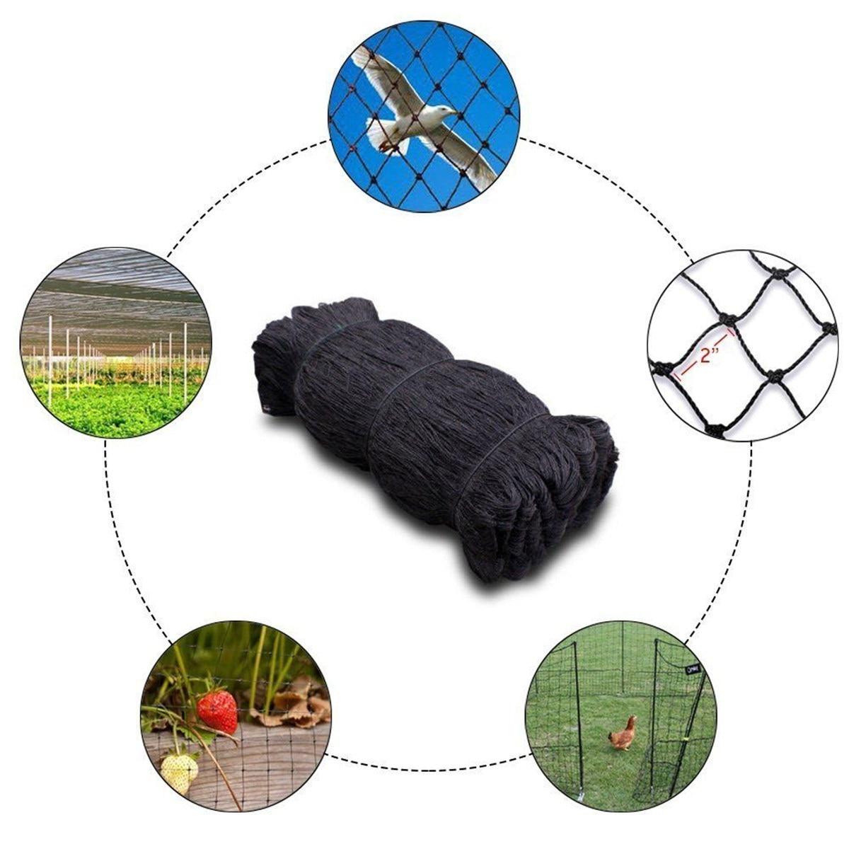 7 5 15M Plastic Anti Bird Netting Pond Net Protection Crops Fruit Tree Ve a