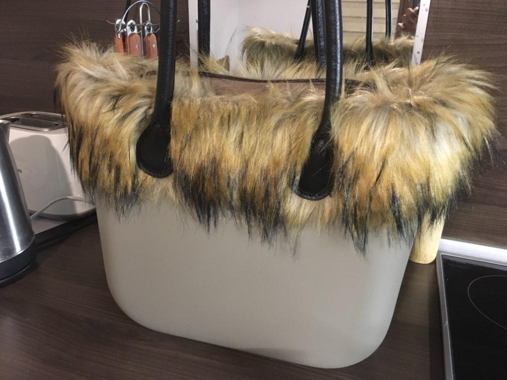 1 pcs dames Trim voor O BAG Thermal Plush Decoration photo review