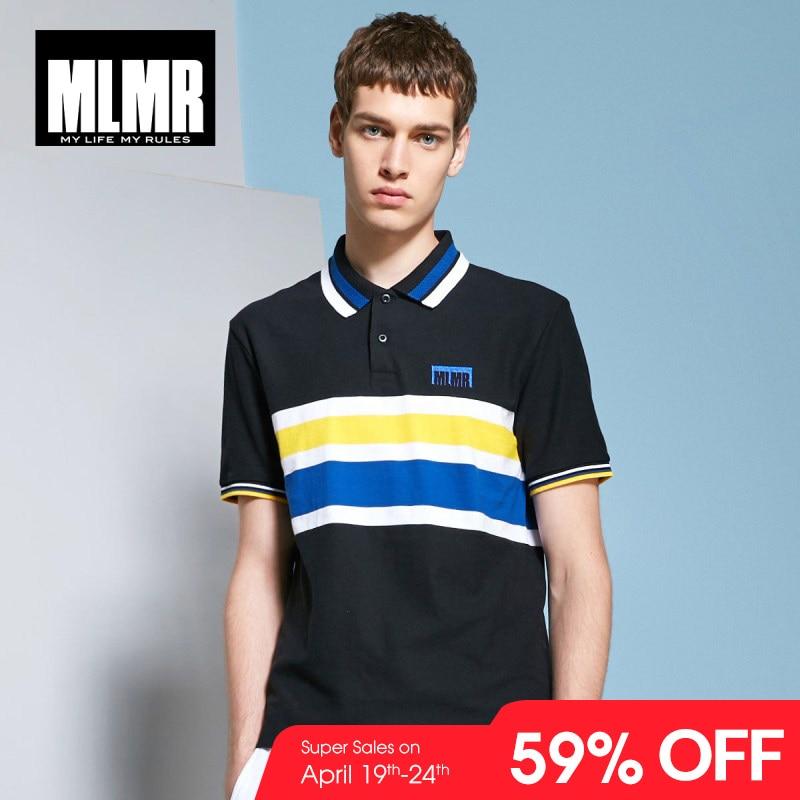 JackJones MLMR Men's Contrasting Stripe Turn-down Collar Short-sleeved   Polo   Shirt Top Menswear M|218206520
