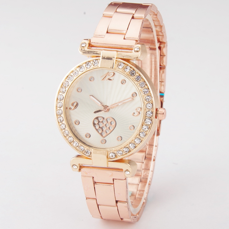 Women Watch Top Brand Luxury Rose Gold Simple Ladies Fashion Wristwatches Dress Watches Women Quartz Watch Reloj Mujer Dropship