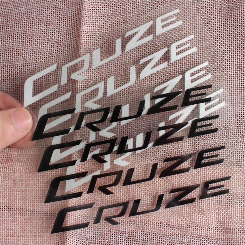 """4 Chevy /""""CRUZE/"""" Door Handle Decal Vinyl Sticker"""