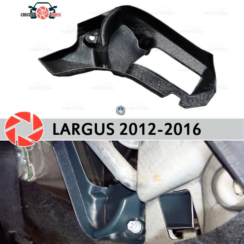 רגליים חמות עבור לאדה Largus 2012-2016 מטה הטיה לבלבל תנור פלסטיק ABS בולט רכב סטיילינג אביזרי קישוט