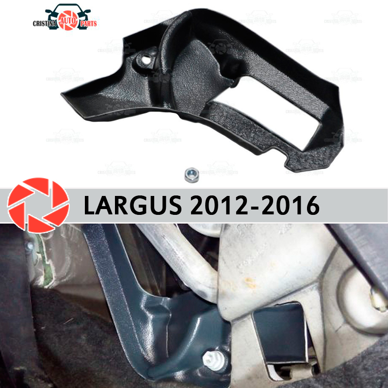 Warm feet for Lada Largus 2012-2016 deflector baffle furnace plastic ABS embossed car styling accessories decoration