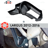 Warm feet for Lada Largus 2012 2016 deflector baffle furnace plastic ABS embossed car styling accessories decoration
