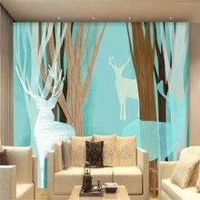 Modern minimalist background wall professional production mural wholesale wallpaper custom photo