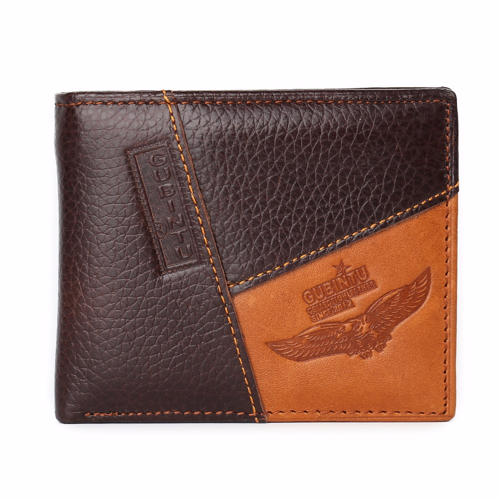 Famous Luxury Brand Genuine Leather Men Wallets Coin Pocket Zipper Men's Leather Wallet with Coin Purse portfolio cartera gzcz famous luxury brand genuine leather men wallets with card holder casual men s leather walet case purse portfolio cartera