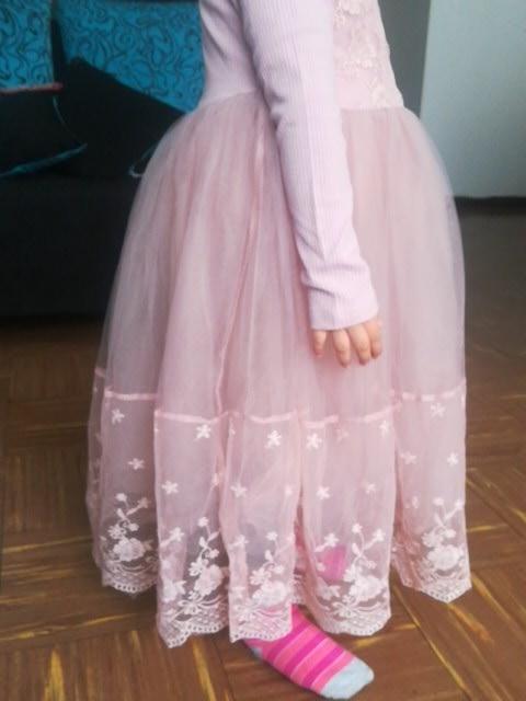 Lace Girls Dress 2019 summer Sleeveless Big bow tutu Princess Kid Dresses for Girls Clothes birthday Party Vestidos 1-12 year