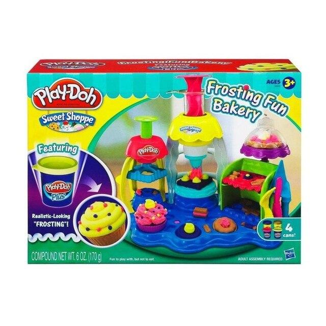 """Набор с пластилином """"Фабрика пирожных"""" Play-Doh A0318121"""