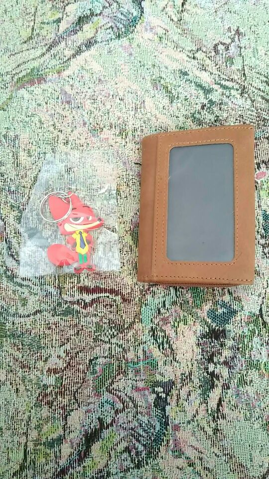 LAOSHIZI LUOSEN Genuine Leather Credit Card Holder Men Card Wallet Small Coin Purse Cardholder Male porte carte bancaire photo review
