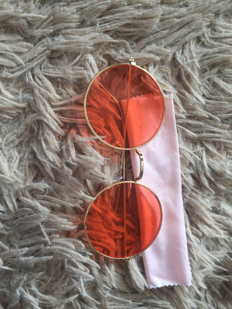New Women Men Round Sunglasses Steampunk Shades MultiColor Gradient Mirror Lens Goggles Designer Vintage Sun Glasses