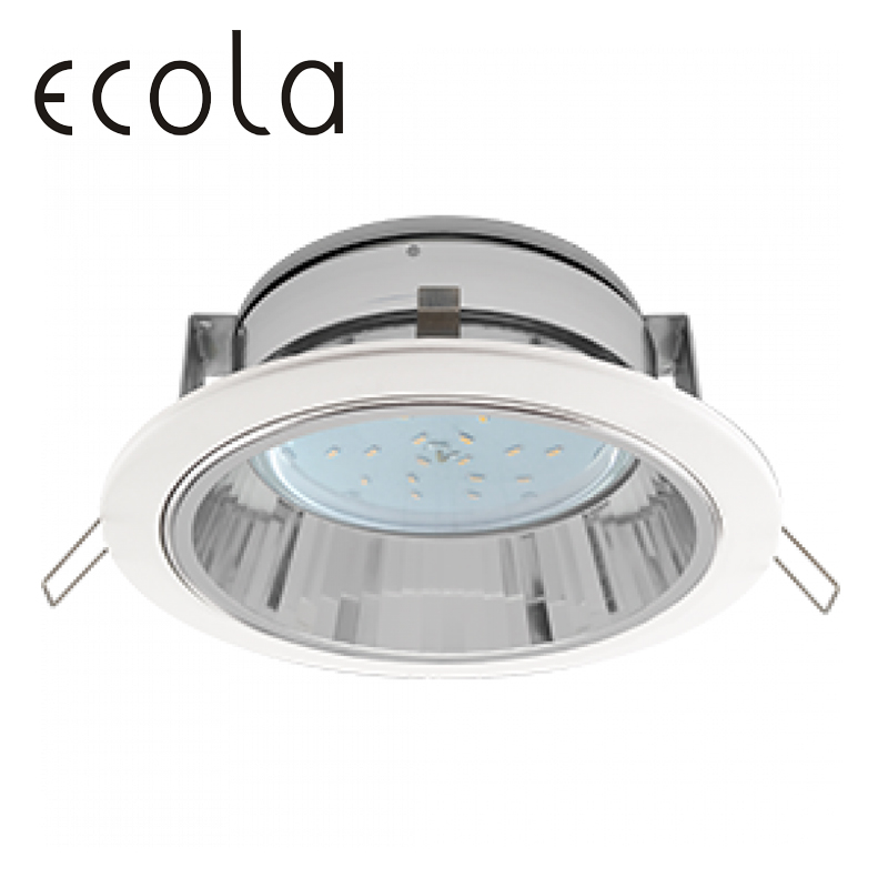Ecola GX53 H2R recessed Ceiling Downlight round Spotlight Hole Spot lamp GX53 Sockets with reflector 58x125 jtron 10050100w round hole ndfeb magnet silver 2 pcs