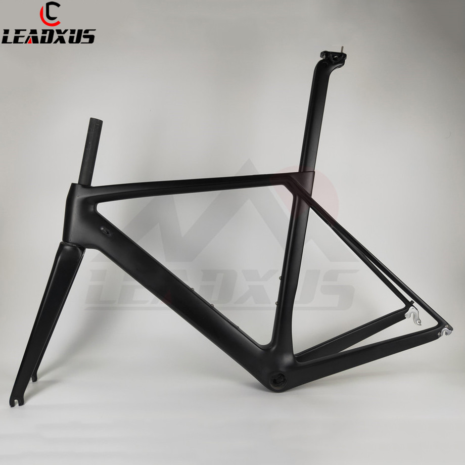 LEADXUS NC260 Road Bike Carbon Frame T800 Carbon Fiber Glossy/Matte Road Bicycle Frame XS/S/M/L/XL