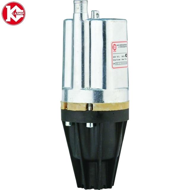 Насос вибрационный Калибр НВТ-360/40П Мощность 360 Вт, для скважин диаметром более 98 мм, максимальная производительность 18 л/мин, кабель 40 м