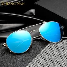 Yi Jiang Nan Brand 2018 New Fashion Full Rim Alloy Frame Sunglasses Men Polarized UV400 high quality Gafas de Sol Los Hombres