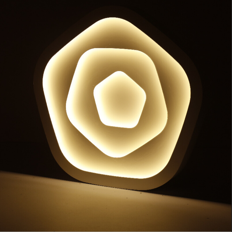 купить Modern Ceiling Lights simple Round LED ceiling lamp for living room study/bedroom lights Home decorative lighting fixtures по цене 2220.8 рублей