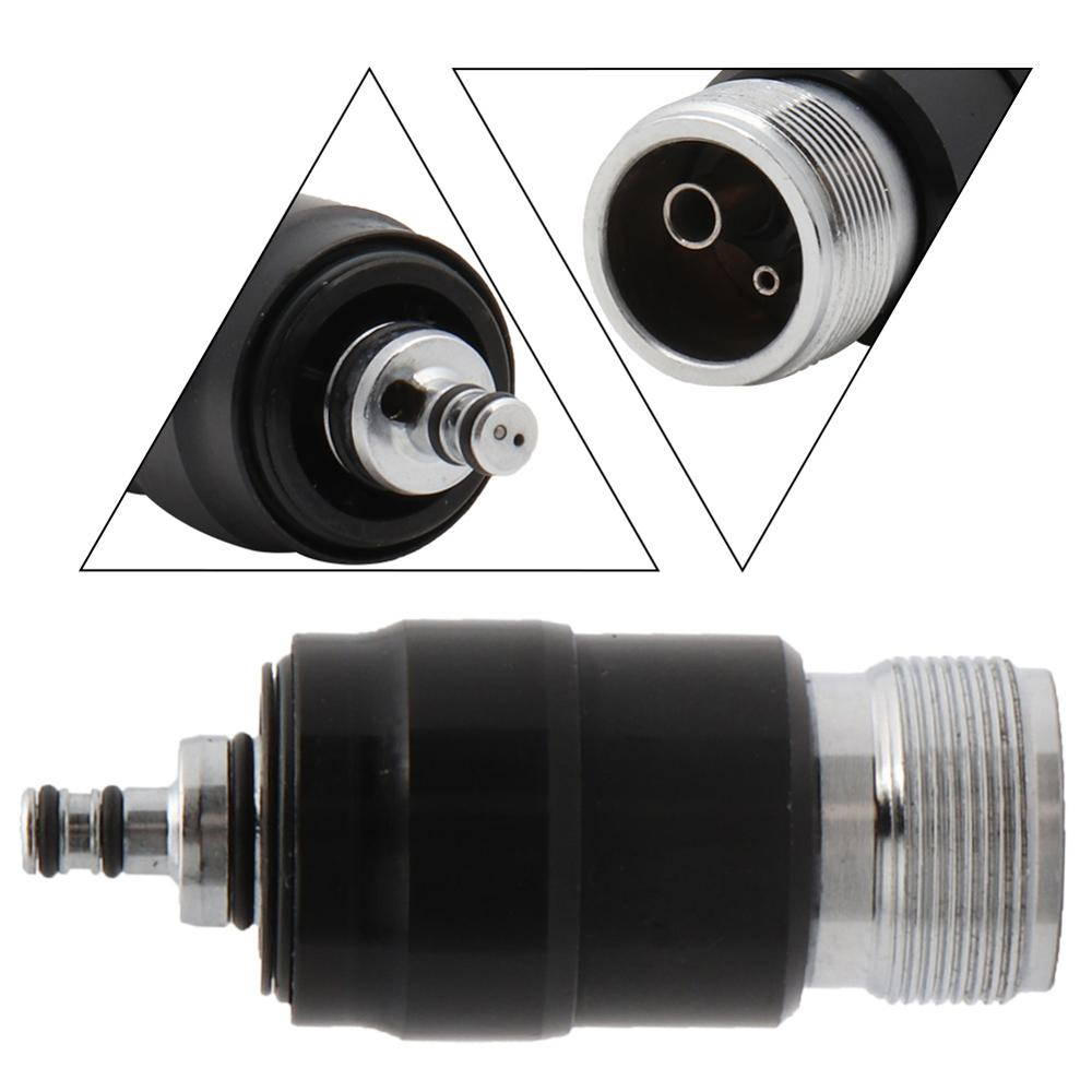 2Holes Adaptor/Coupler Fits Dental High Speed Handpiece Coupling Air Turbine Borden B2