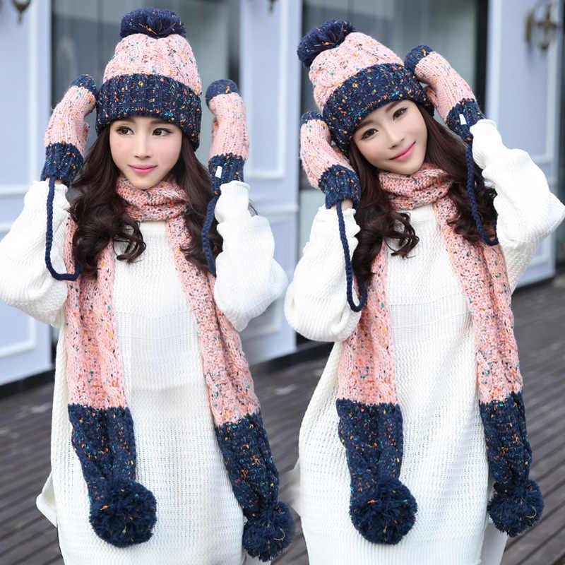 da5a10007 Detail Feedback Questions about winter warm plush thick beanie wool ...