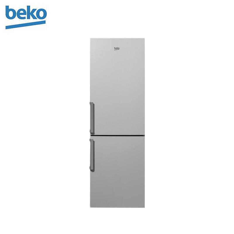 Refrigerator Beko RCSK339M21S silver refrigerator beko rcnk321k00w white