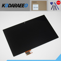 Kodaraeeo Black Panel LCD Replacement Touch Display Screen Digitizer Sensor For Sony Xperia Tablet Z SGP311