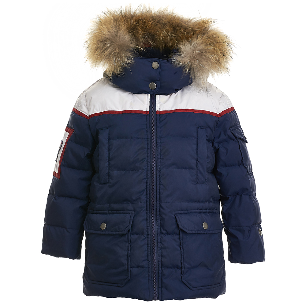 Jackets & Coats Gulliver for boys 21804BMC4504 Jacket Coat Denim Cardigan Warm Children clothes Kids biboymall winter coat 2017 military coats women cotton wadded hooded jacket casual parkas thickness plus size snow outwear