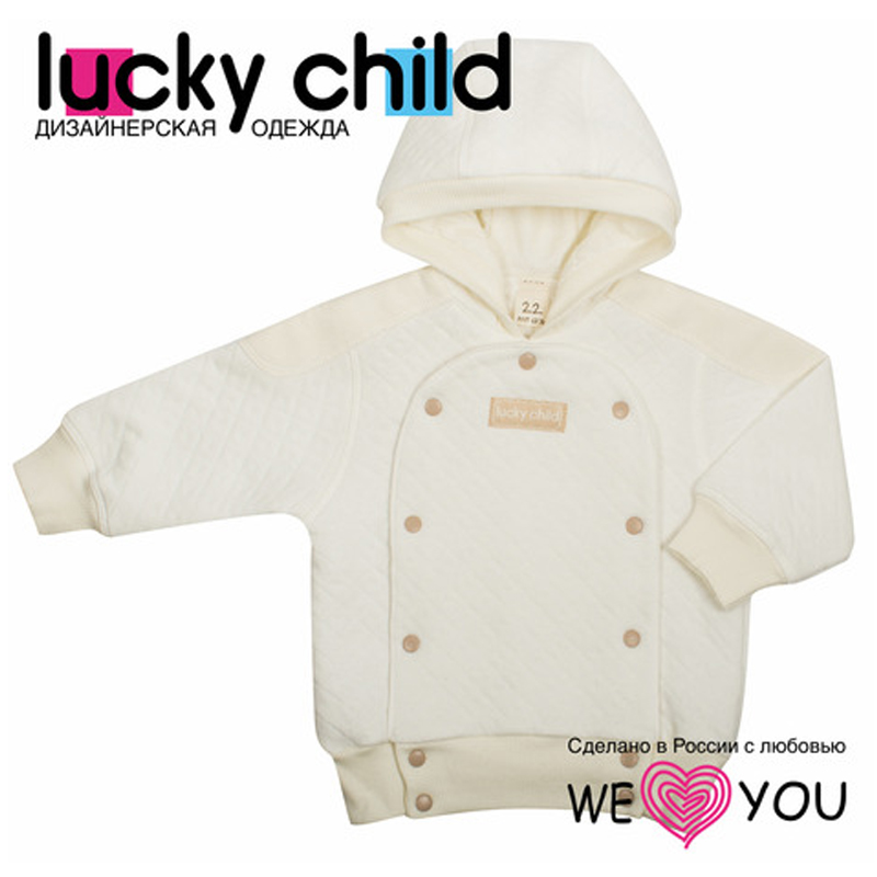 Children's sweatshirt Lucky child striped panel sweatshirt