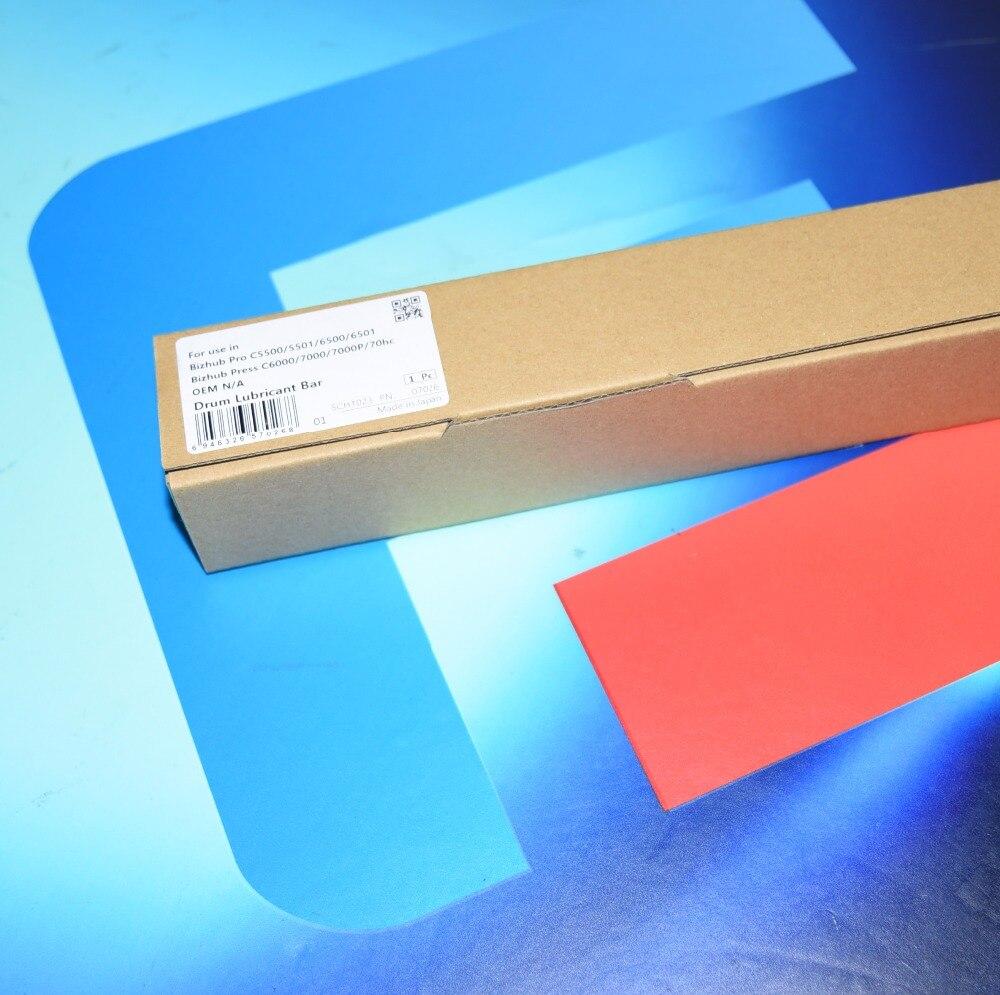 free shiping 4 pcs Drum Lubricant Bar for Konica Minolta Bizhub Pro C5500 C5501 C6500 C6501