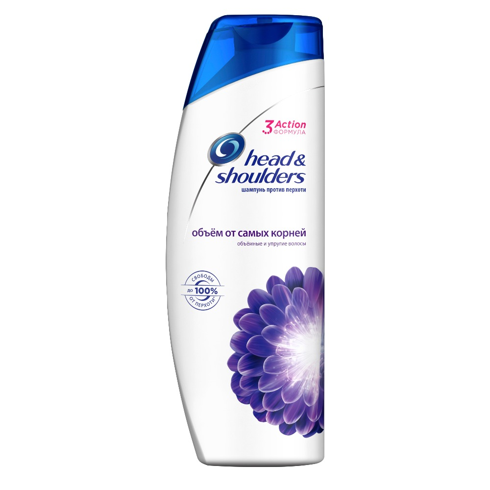 Shampoo Head & Shoulders 3 Action Anti Dandruff Shampoo Volume from the roots 600ml