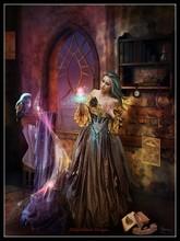 เย็บปักถักร้อยชุดปักครอสติชชุดเย็บปักถักร้อยงานฝีมือ 14 ct DMC สี DIY ศิลปะ Handmade Decor Enchanted Seamstress