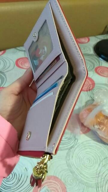 Украшения:: Цепочки,Кисточка; кожаный бумажник женщин; фиолетовый кошелек;