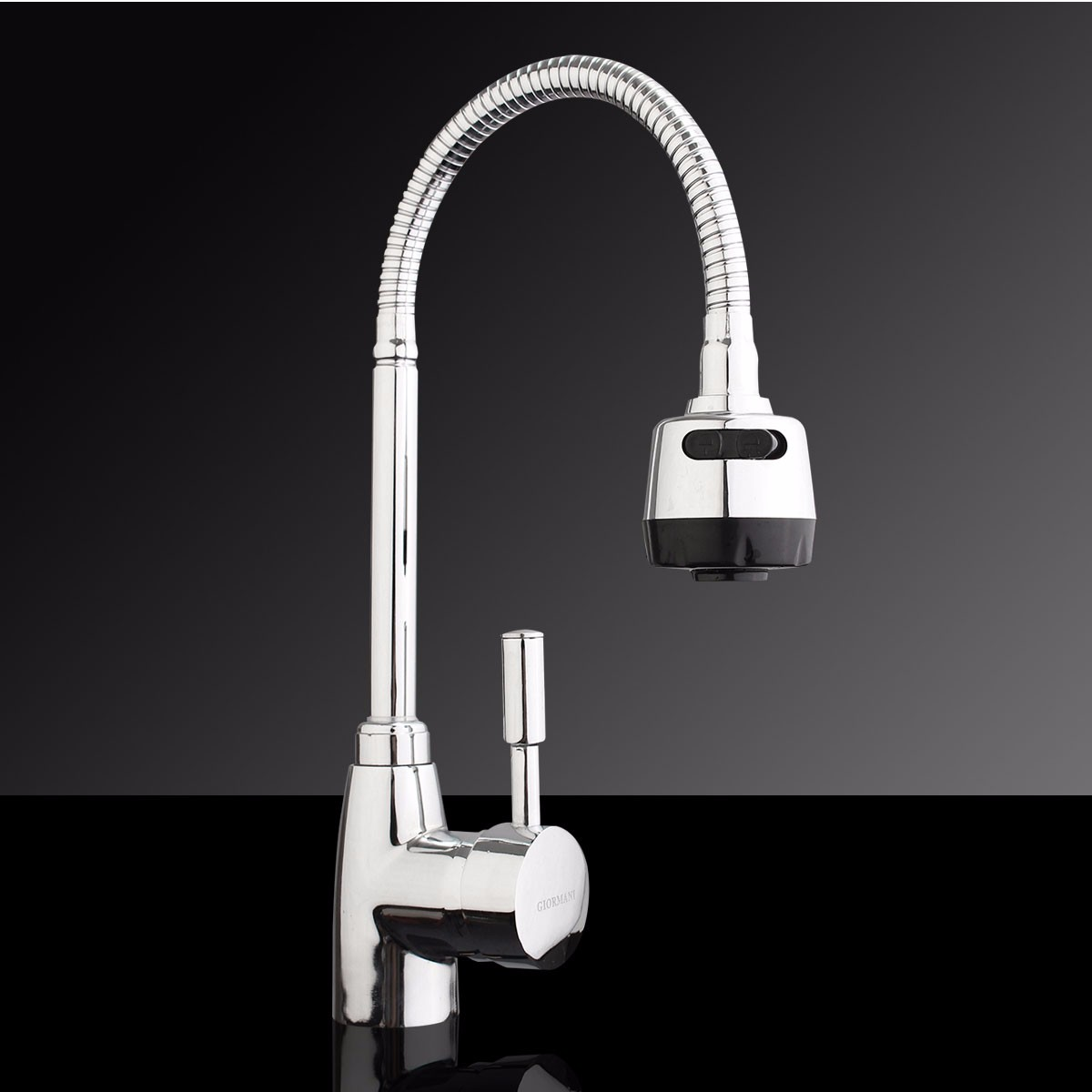 Chrome Swivel Kitchen Faucet Modern Basin Faucets Mixer Tap Alloy Bathroom Tap Faucet Kitchen Mixer Cold and Hot Water цена 2017