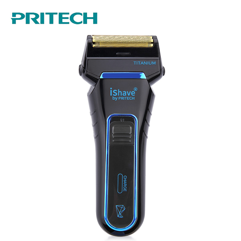 PRITECH Electric Shaver Rechargeable Shaving Machine Single Blade Razor Floating Head Men shaver Face Care Beard Trimmer #1310 top quality new stainless steel strap 18mm 13mm flat straight end metal bracelet watch band silver gold watchband for brand