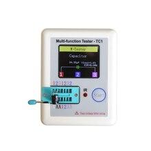 LCR-TC1 160*128 TFT lcd цветной дисплей Графический PNP NPN транзистор тест er мультиметр Диод Триод измеритель емкости резистор тест