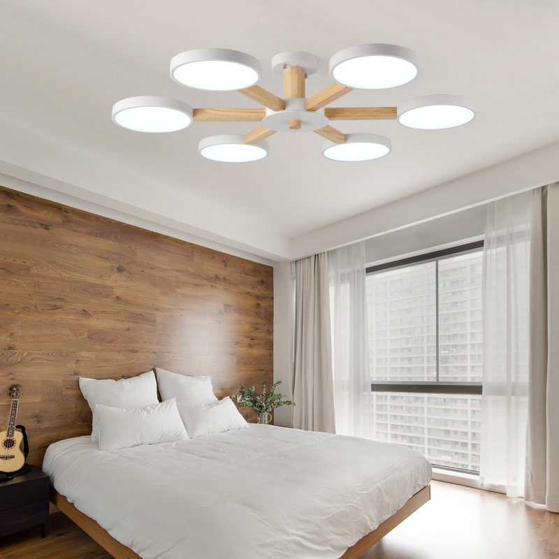 Ceiling Light Fixtures for Living Room LED Modern Living Room Bedroom Indoor Lamp Design Art Creative Wood Iron Home Decoration modern led chandeliers ceiling for dining room living room bedroom home decoration iron wood indoor lamp lighting fixture design