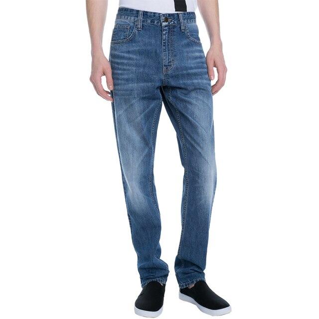 Джинсы Gloria Jeans мужские базовые medium прямого кроя BJN005432