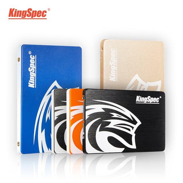 KingSpec – disque dur interne SSD, SATA, 2.5 pouces, avec capacité de 120 go, 240 go, 480 go, 128 go, 256 go, 1 to, pour ordinateur portable 1