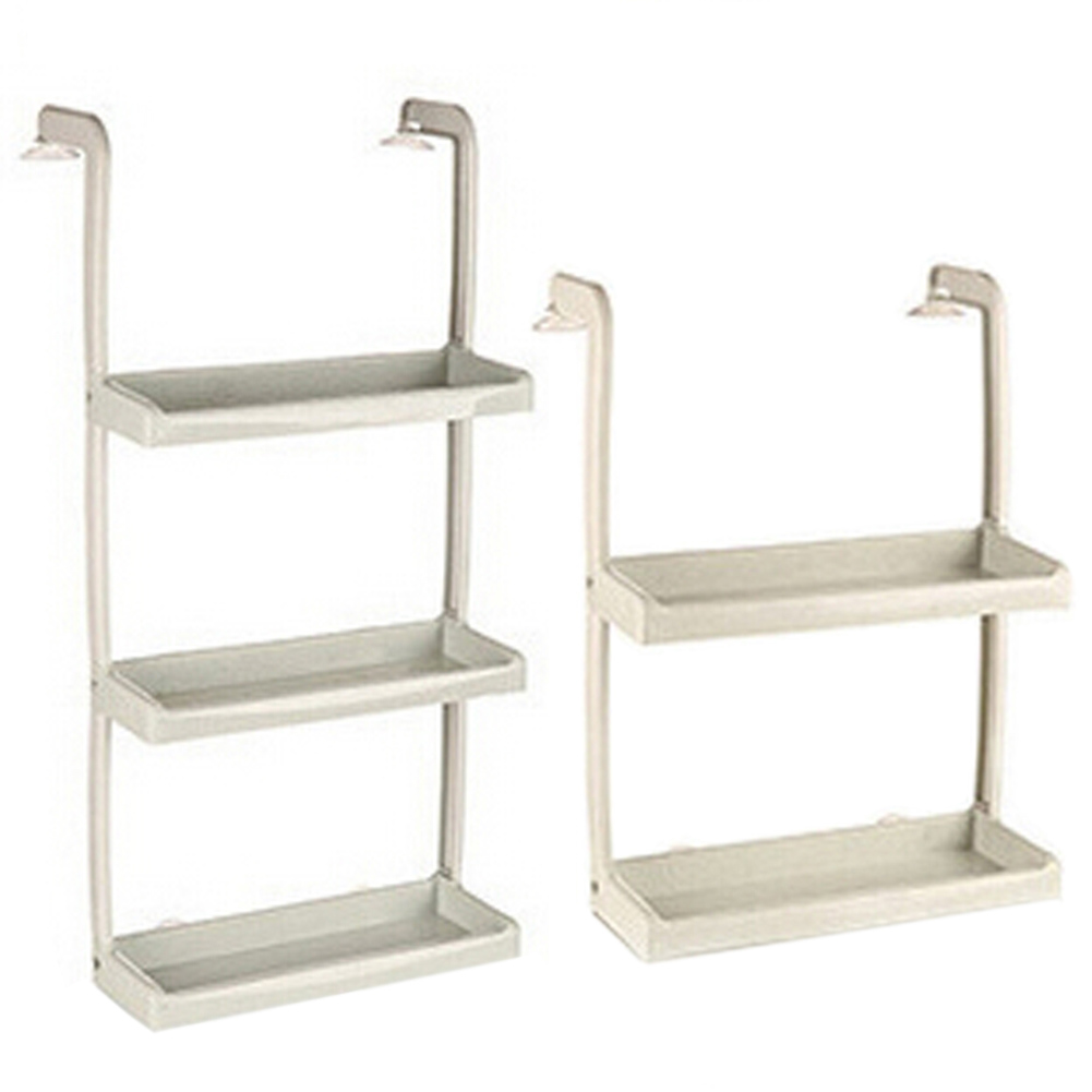 New PP Refrigerators Side   Hanging Racks Kitchen Shelves Hanging Wall  Hangers Racks Spices Racks 2 Sizes Gift