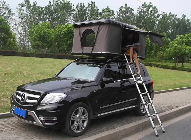 WEIPA OUTDOOR Pop Up Vehicle Tent Hard Shell Roof Top 4WD Tents Universal For Cars Trucks SUVs Camping Travel Mobile
