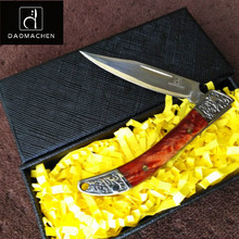 DAOMACHEN new Folding Knife Tactical Pocket Camping Survival Tools Hunting knives Outdoor knife With Exquisite gift box