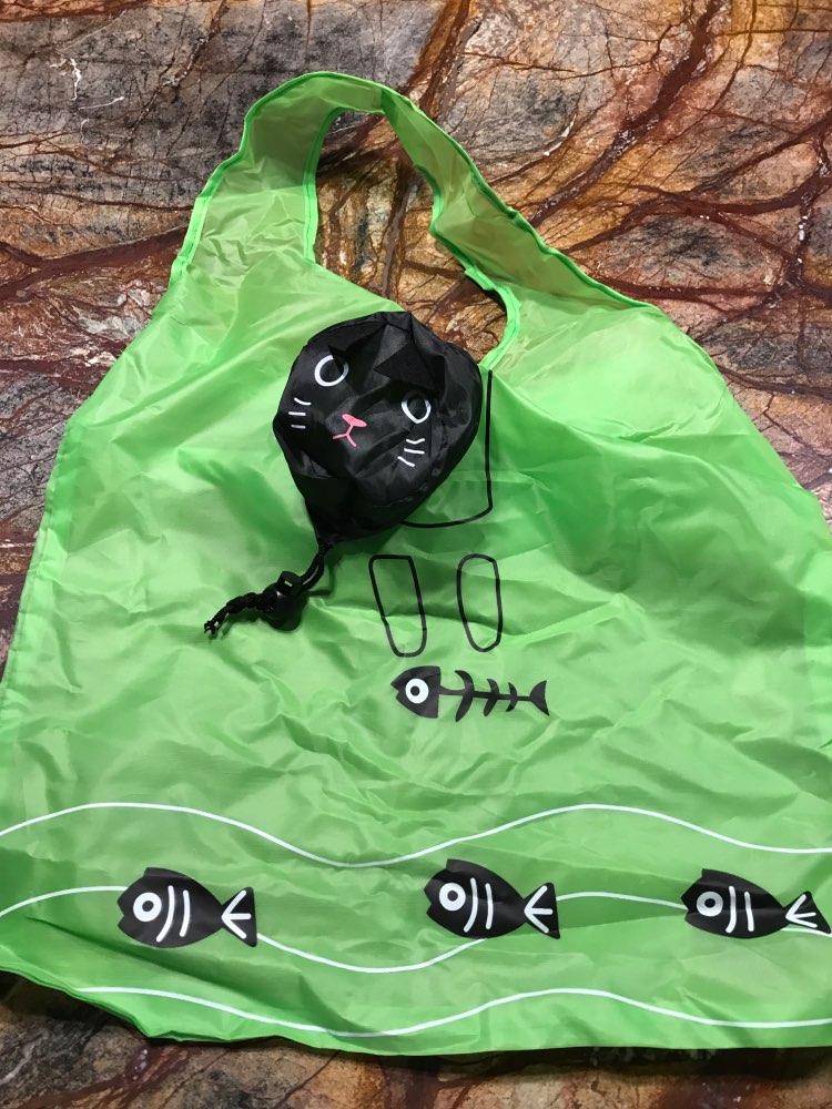 Travel Foldable Handbag Grocery Tote Storage Reusable Cute Animal Eco Friendly Shopping Bag Portable Travel NEW photo review