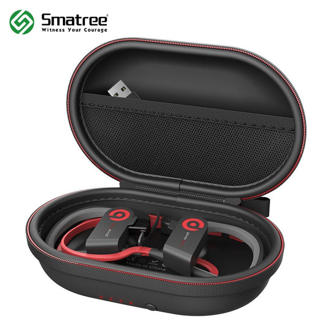 Smatree зарядный чехол S50 Портативный жесткий защитный мешок для Powerbeats 2, Powerbeats 3 и другие Беспроводной bluetooth наушники