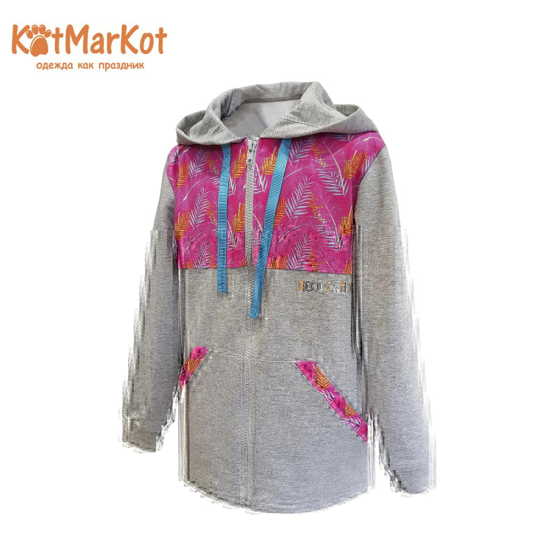 Sweatshirt for girls Kotmarkot 23612 kid clothes