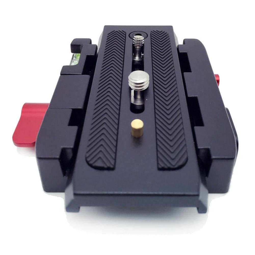 Pro Rapide Libération Glisser le Collier Plaque Adaptateur Système pour Caméra Trépied Rotule