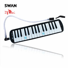 Swan 32 Keys Melodica Mouth Organ Black Pink Blue Colors Keyboard Musical Instruments Accessory For Teaching Performance In Bag