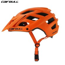 2018 New Cairbull Cycling Helmet Trail Xc Bicycle Helmet In-mold Mtb Bike Helmet Casco Ciclismo Road Mountain Helmets Safety Cap safety helmet hard hat work cap abs insulation material with phosphor stripe construction site insulating protect helmets