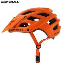 2018 New Cairbull Cycling Helmet Trail Xc Bicycle Helmet In-mold Mtb Bike Helmet Casco Ciclismo Road Mountain Helmets Safety Cap цены онлайн