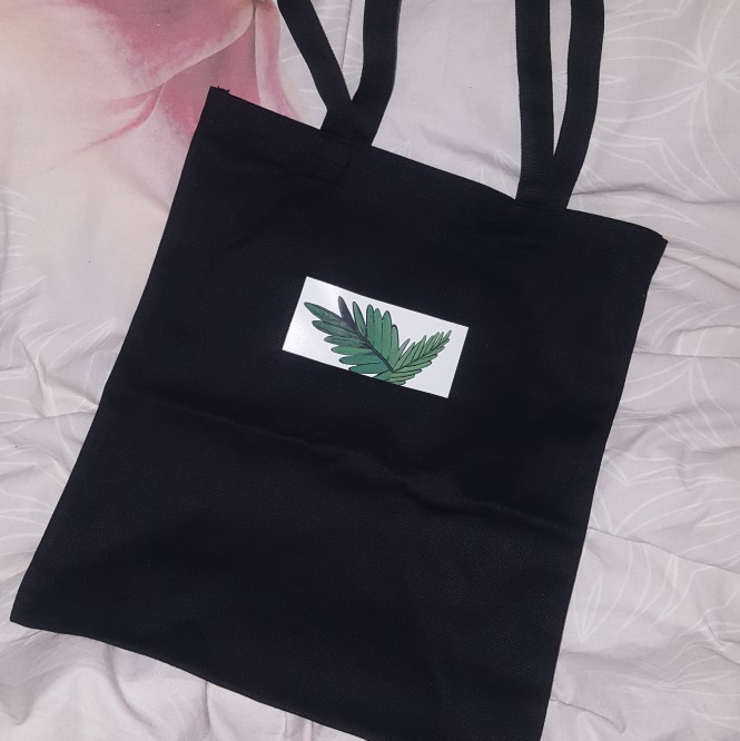 2019 Autumn Winter New Hot Fashion Women Female Simple Casual Plants Students School Canvas Bags Shopping Bags Shoulder Bags photo review