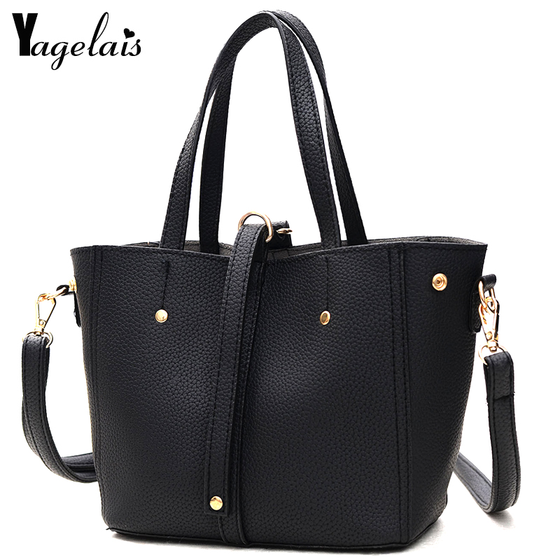 Fashion Leather Solid Color Tote Women Hasp and Zipper Handbags Crossbody Shoulder Bags Big Clutch Casual Lady Daily Bags 4 colors big bags for women 2017 new canvas handbags solid clutch shoulder bag large lady tote bolsas femininas with zipper