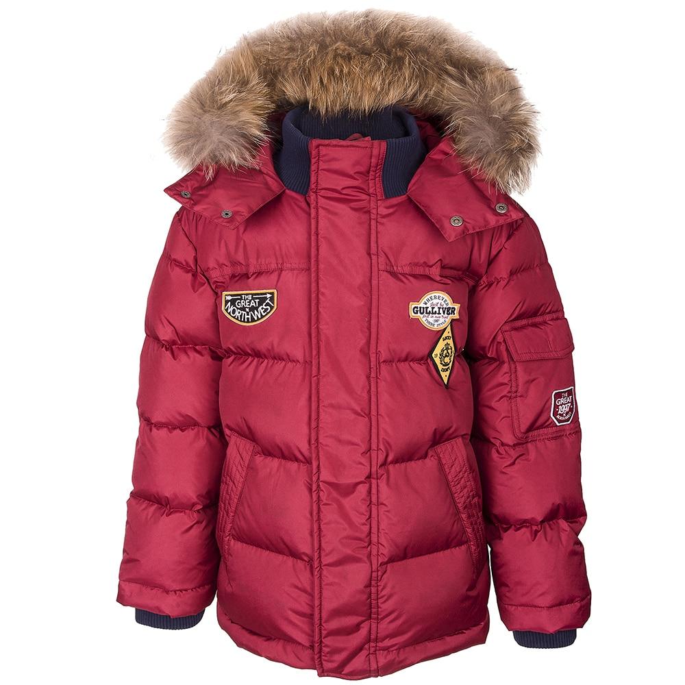 Jackets & Coats Gulliver for boys 21808BKC4104 Jacket Coat Denim Cardigan Warm Children clothes Kids chest pocket button up destroyed denim jacket