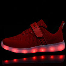 Kids Led Usb Charging Glowing Sneakers Children Fashion Luminous Shoes For Girls Boys Skate