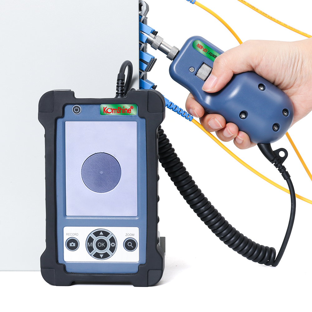Image 5 - Komshine KIP 600V Fiber Optic Connector Inspection Video Inspection Probe and Display, Fiber Optic MicroScope 400 Magnification-in Fiber Optic Equipments from Cellphones & Telecommunications
